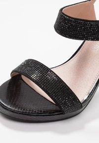 Mariamare - High heeled sandals - black - 2