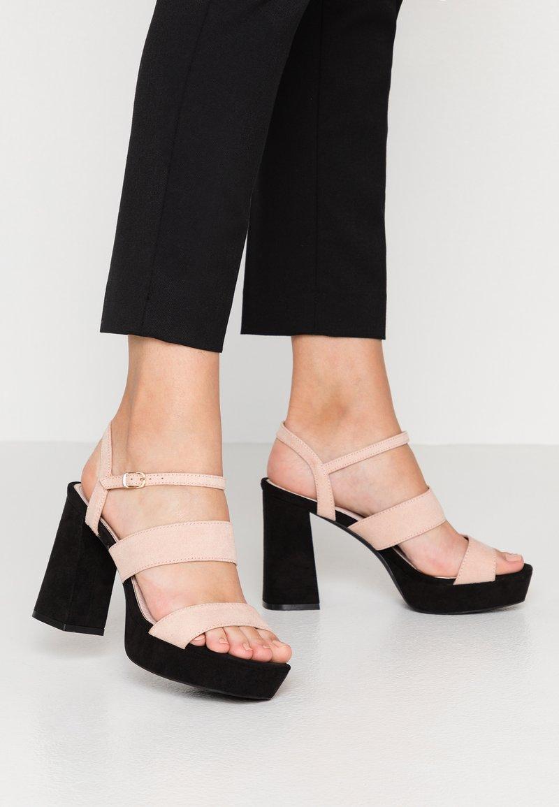 Mariamare - High Heel Sandalette - nude
