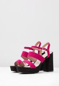 Mariamare - Korolliset sandaalit - fucsia - 4