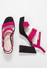 Mariamare - Korolliset sandaalit - fucsia - 3