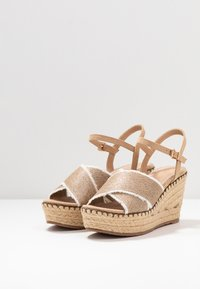 Mariamare - High heeled sandals - champagne - 4