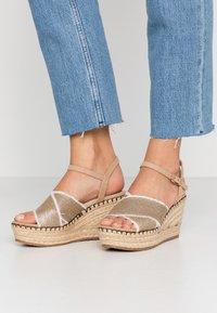 Mariamare - High heeled sandals - champagne - 0