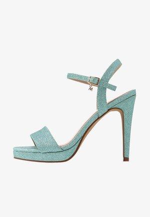 Sandalias de tacón - mint