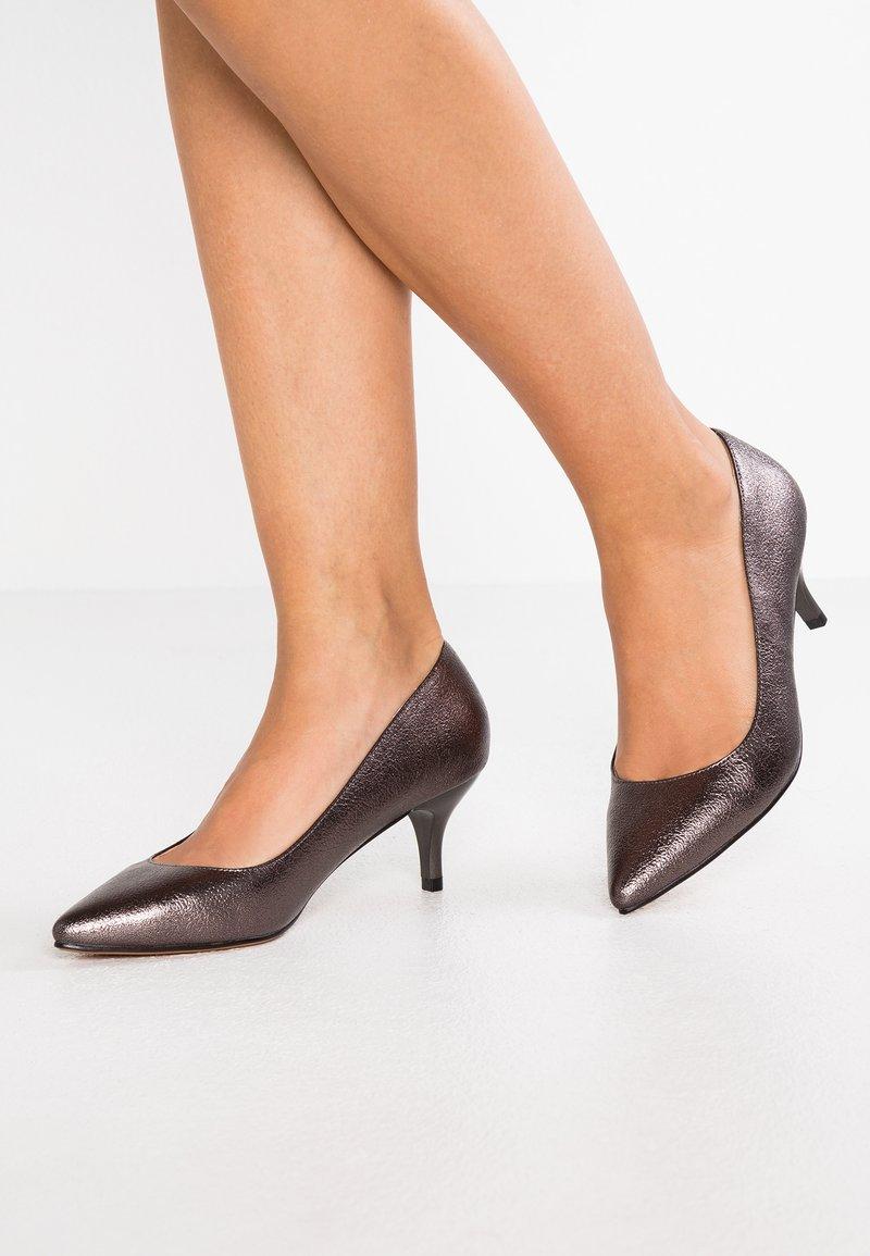 Mariamare - LICIA - Classic heels - bometal pewter