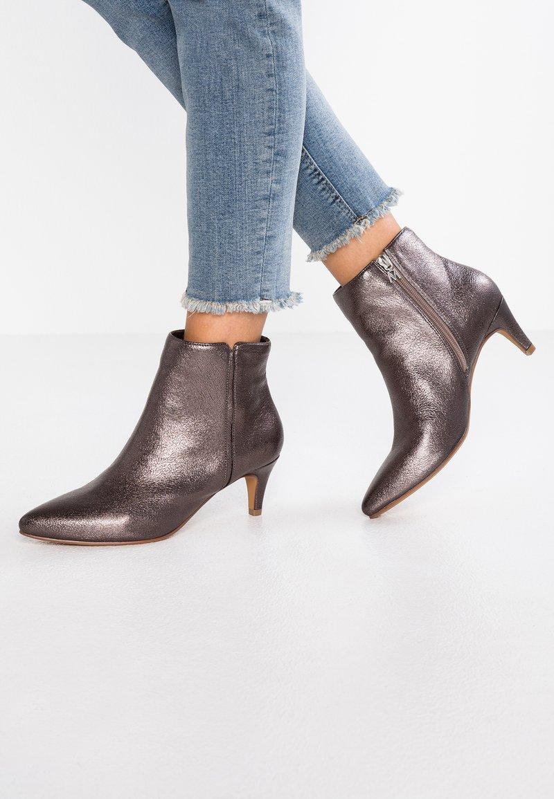 Mariamare - GISELE - Ankle boots - bometal pewter