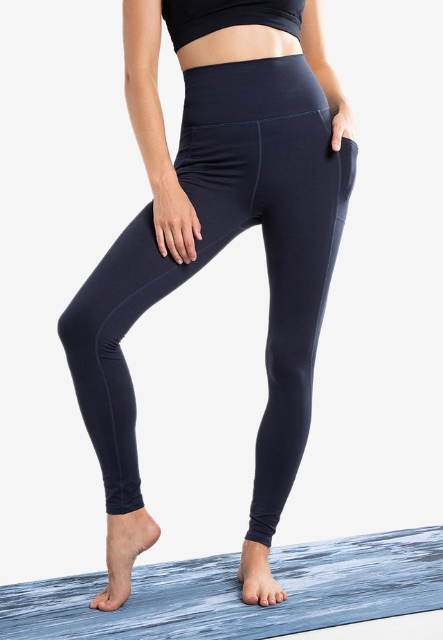 ESSENTIAL POCKET  - Leggings - Trousers - nocturnal