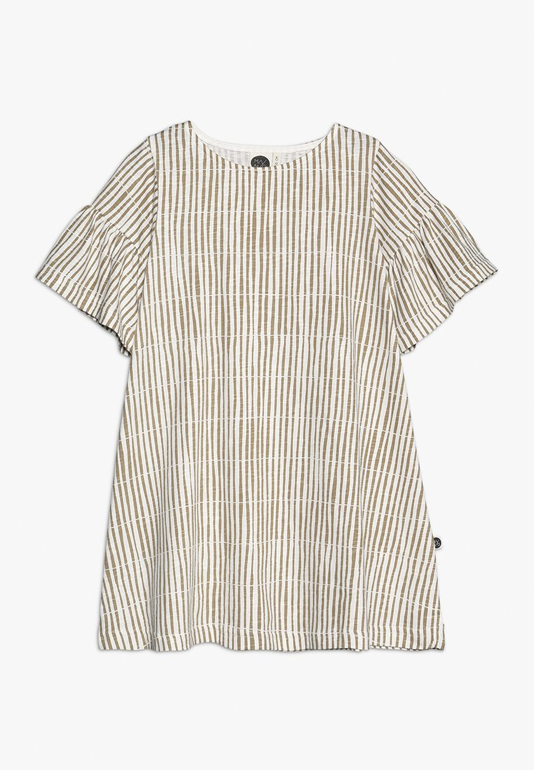 Mainio - REED DRESS - Jerseyklänning - whisper white