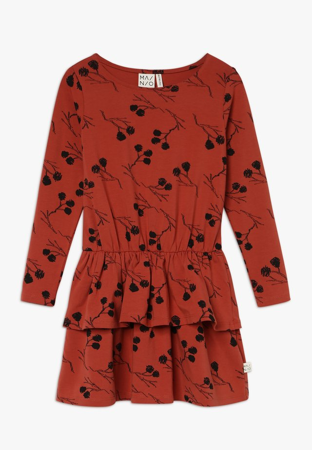 ALDER FRILL DRESS - Robe en jersey - mango