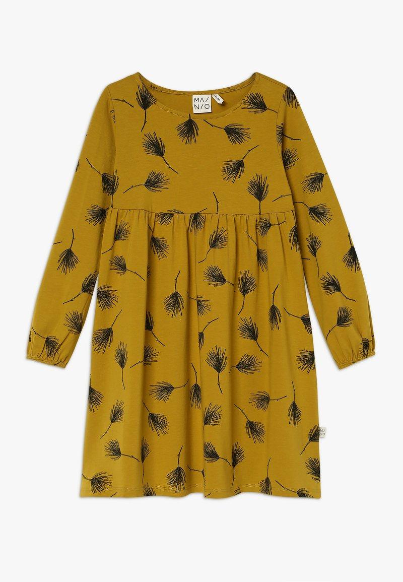 Mainio - PINE DRESS - Jerseykjoler - golden