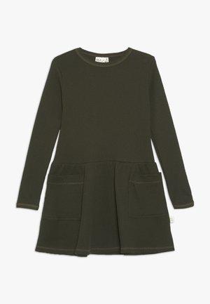 WAFFLE DRESS - Vestido ligero - kombu green