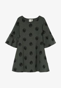 Mainio - CONE DRESS - Jersey dress - duck green - 2