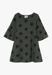 Mainio - CONE DRESS - Jersey dress - duck green - 0