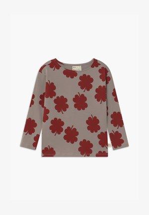 Long sleeved top - vintage khaki