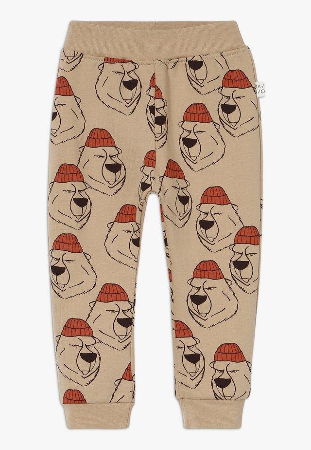 LUMBERJACK - Trousers - seasame