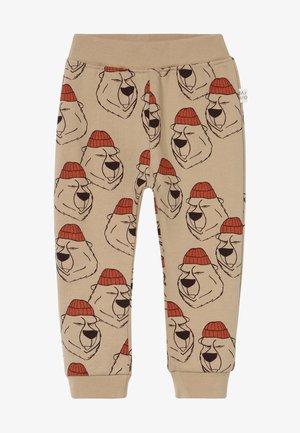 LUMBERJACK - Spodnie materiałowe - seasame