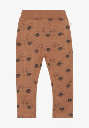 PICK UP TRUCK PANTS SLUB - Leggingsit - pecan brown