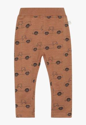 PICK UP TRUCK PANTS SLUB - Leggings - pecan brown
