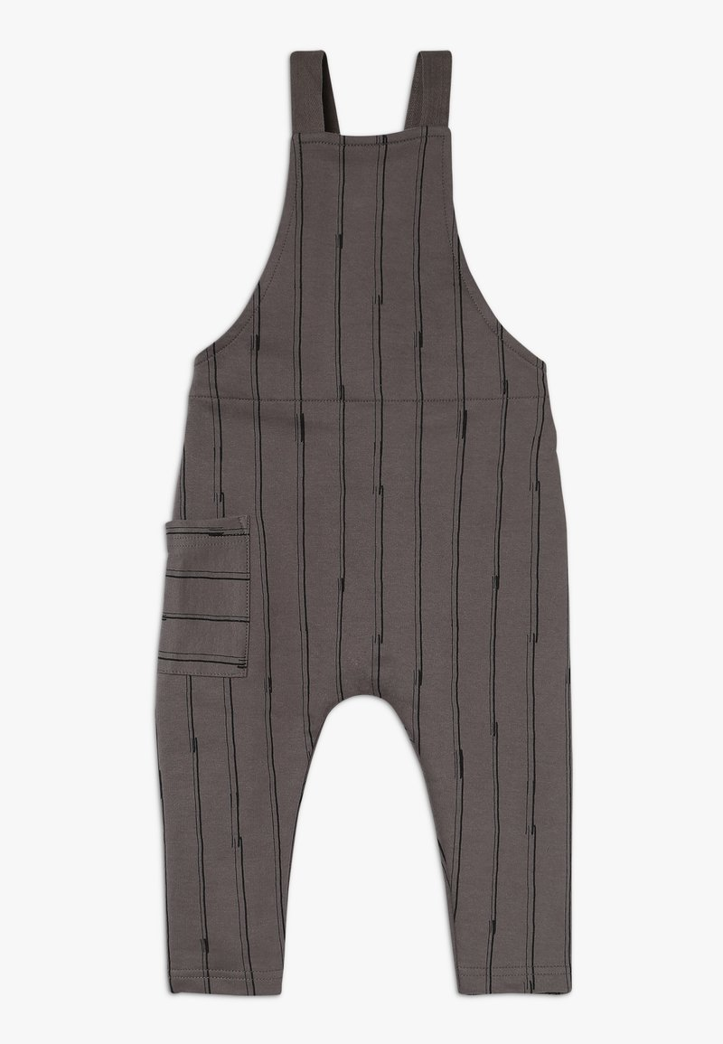 Mainio - STICKS SALOPETTE - Pantaloni - charcoal grey