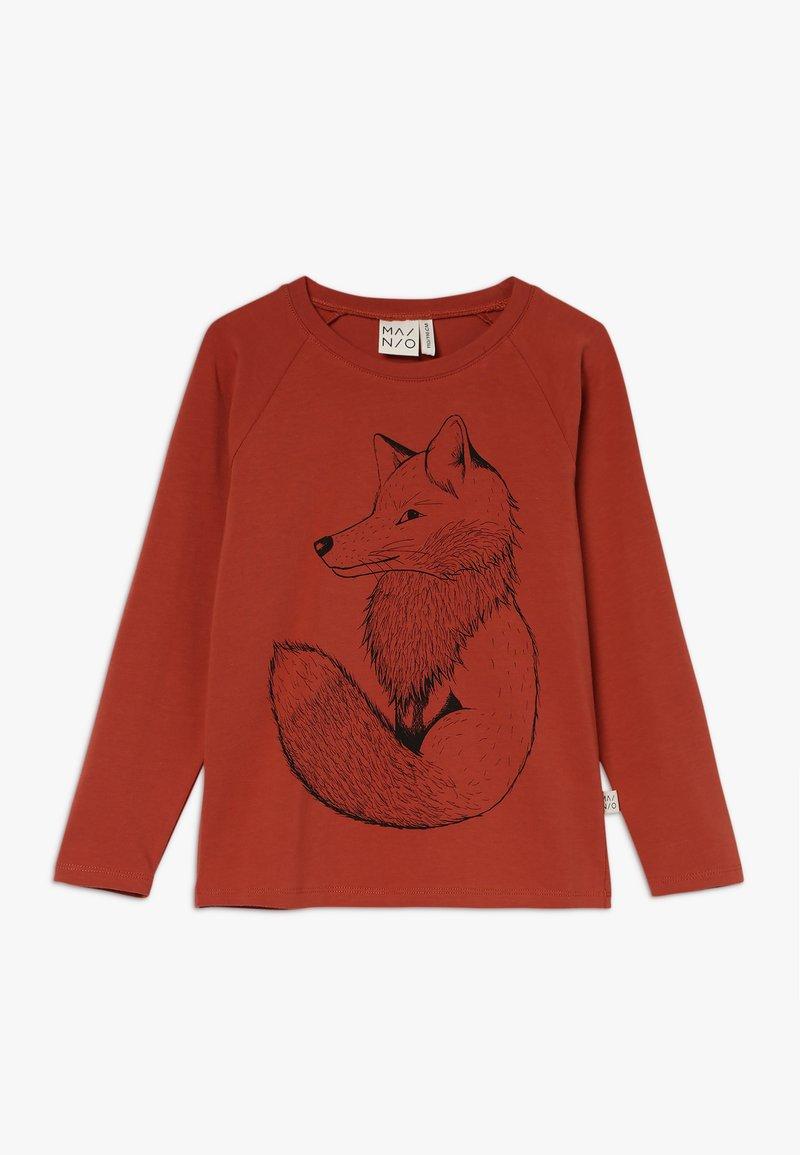 Mainio - CLEVER FOX SHIRT KIDS - Langærmede T-shirts - mango