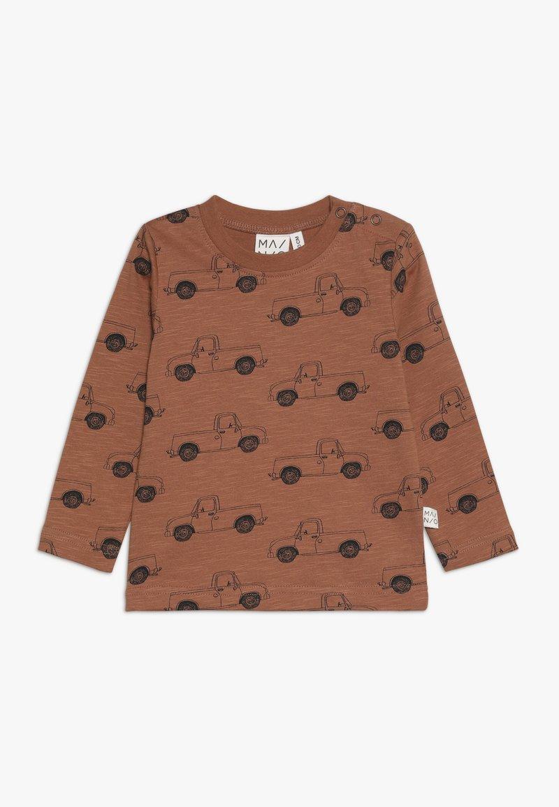 Mainio - PICK UP TRUCK - Bluzka z długim rękawem - pecan brown