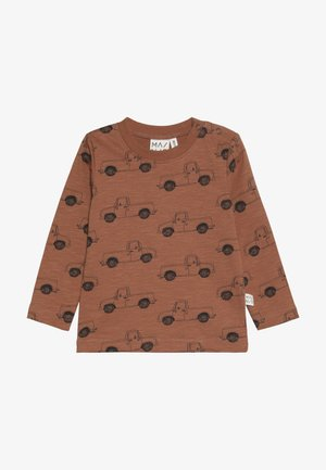 PICK UP TRUCK - Camiseta de manga larga - pecan brown