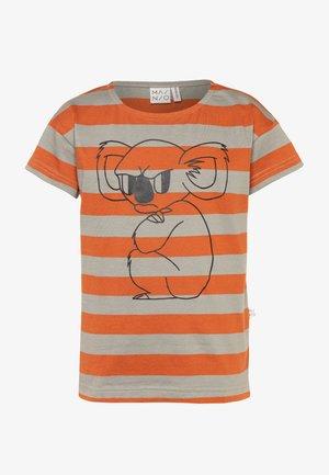 T-Shirt print - bombay brown/seagrass