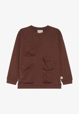 POCKET - Sweatshirt - hot chocolate