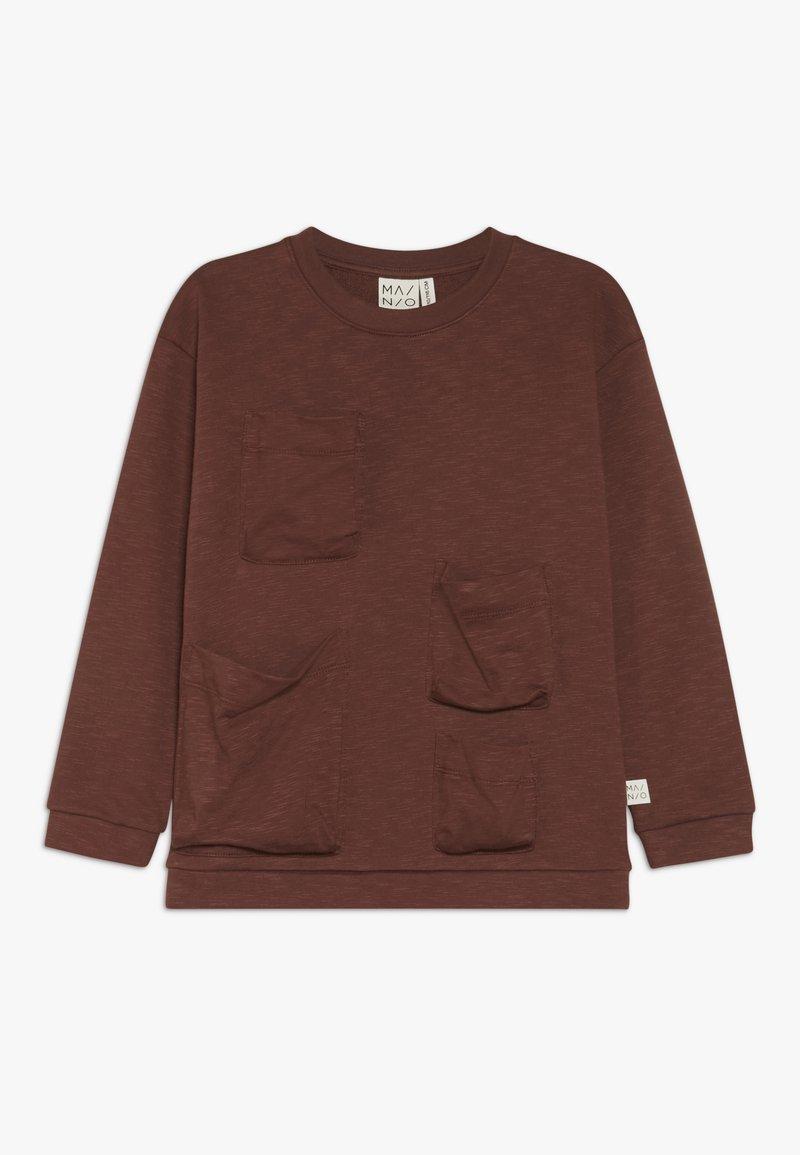 Mainio - POCKET - Sweatshirt - hot chocolate