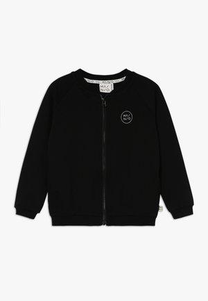 LUMBERJACK BOMBER - Mikina na zip - black