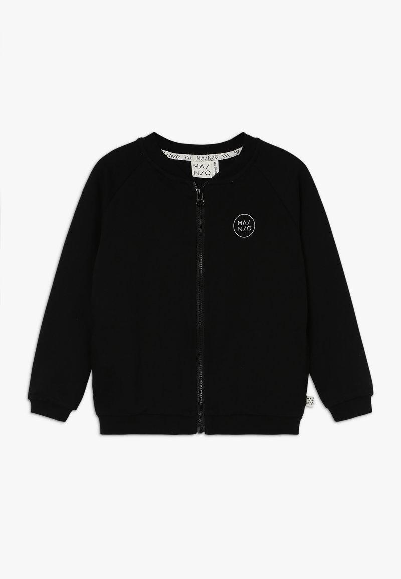 Mainio - LUMBERJACK BOMBER - Mikina na zip - black