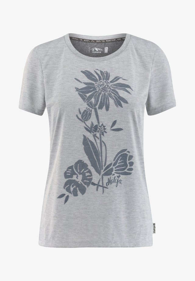 VULPERAM - Print T-shirt - grey