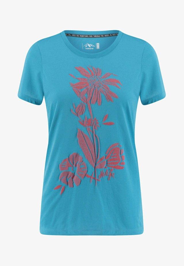 VULPERAM - Print T-shirt - turquoise