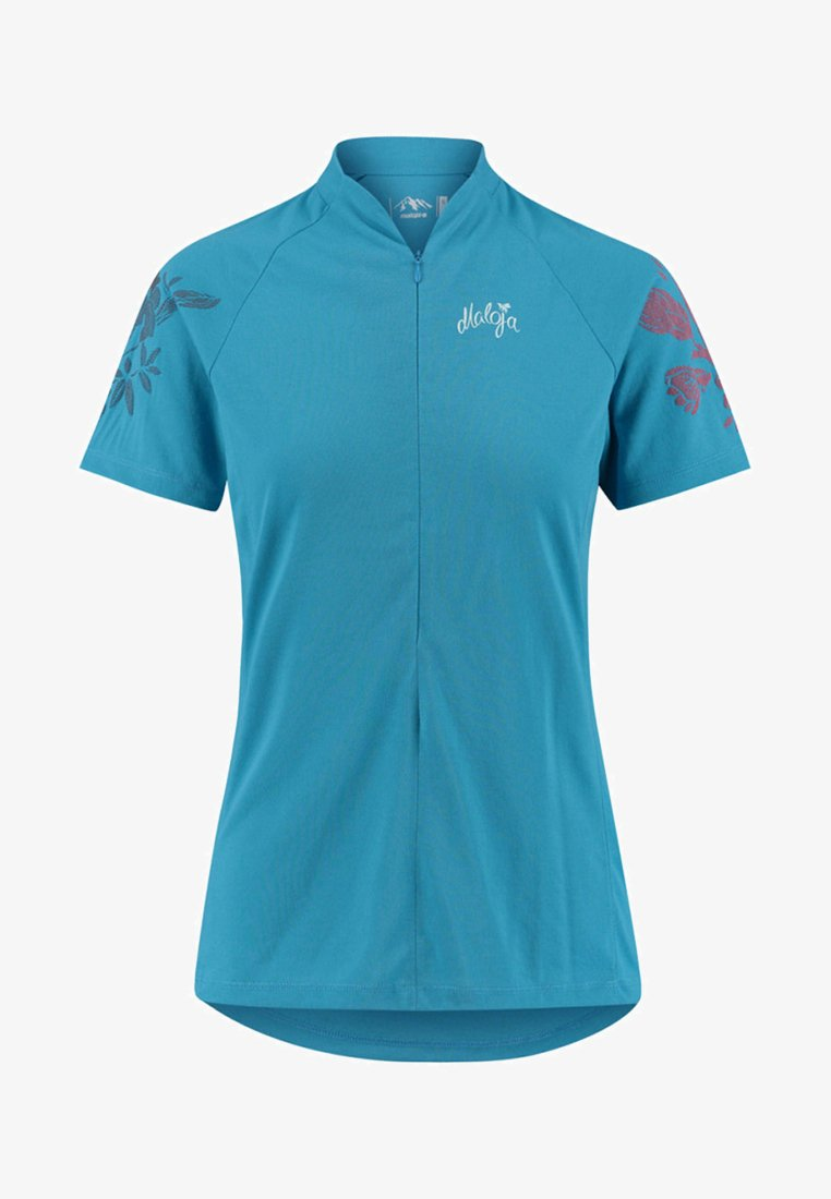 Maloja - VULPERAM ALL MOUNTAIN - Print T-shirt - turquoise
