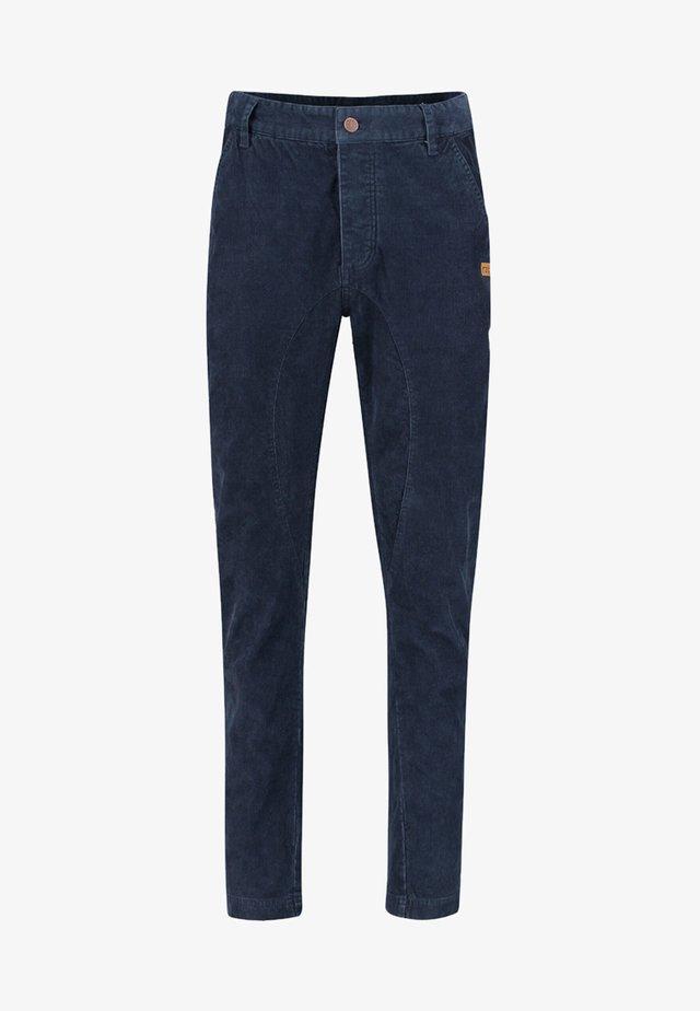 TSCHEPPAM - Trousers - marine