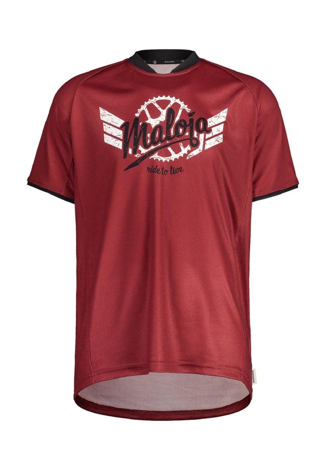 PALINM. MULTI - Print T-shirt - rot (500)