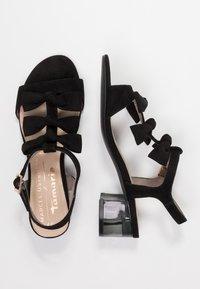Marcel Ostertag x Tamaris - Sandals - black - 3