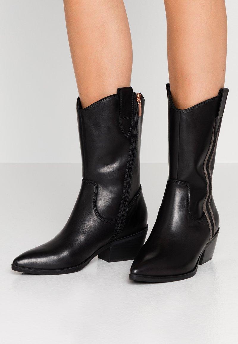 Marcel Ostertag x Tamaris - Cowboy/Biker boots - black