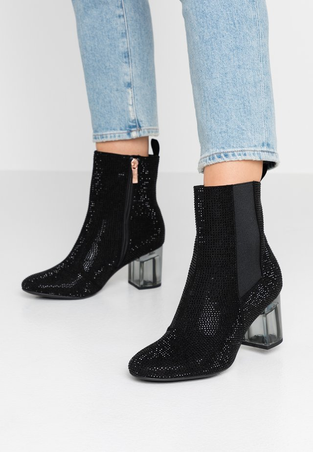 Bottines - black glam