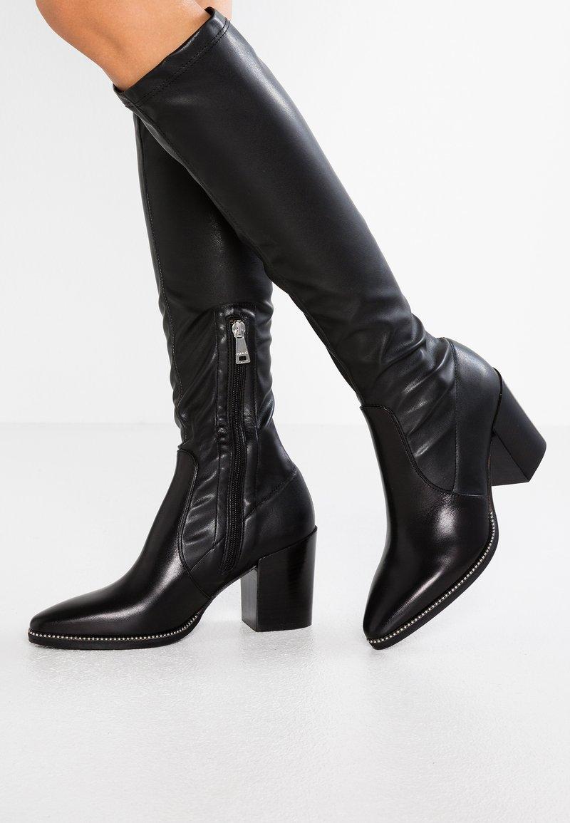 MA&LO - ZOE - Vysoká obuv - nero