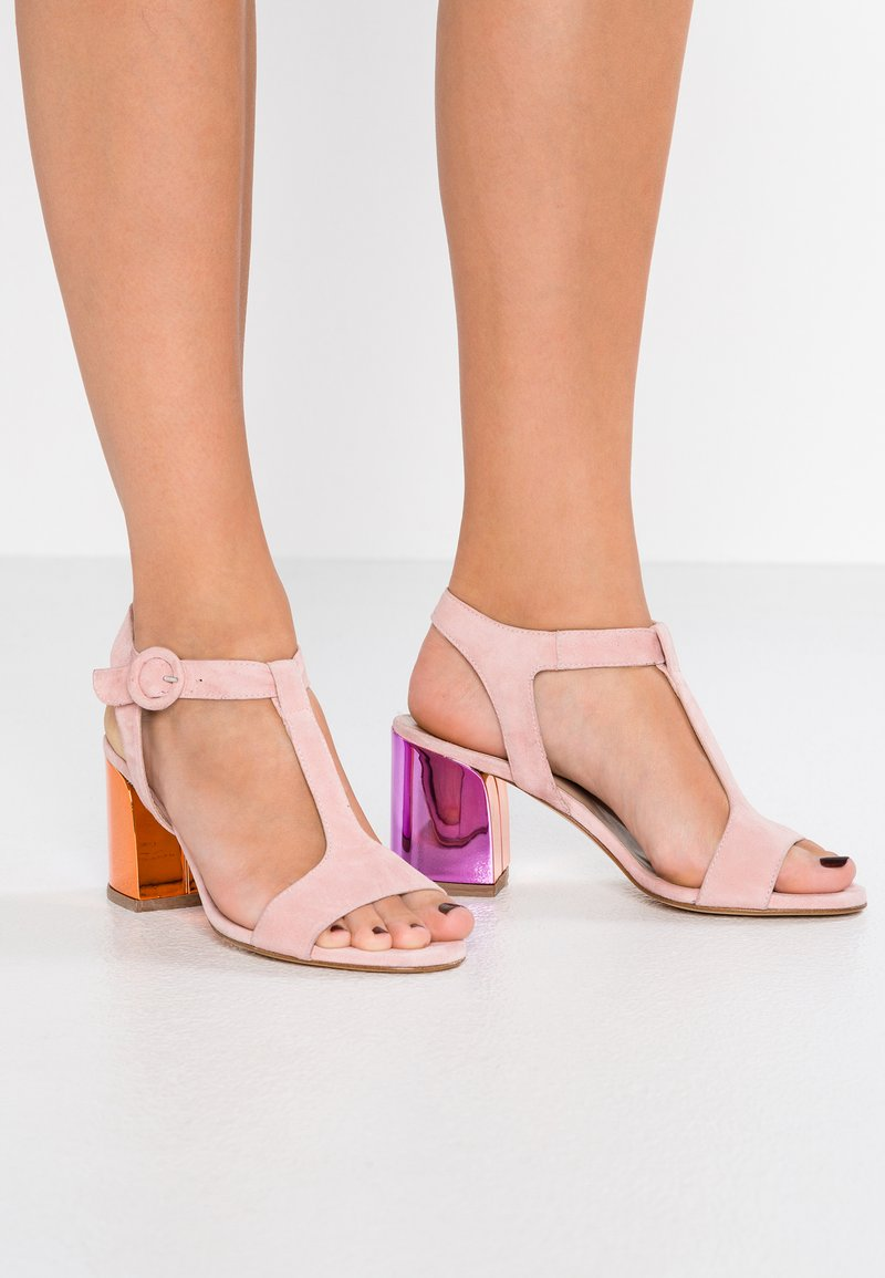 MA&LO - Sandaler - amalfi pink/sand