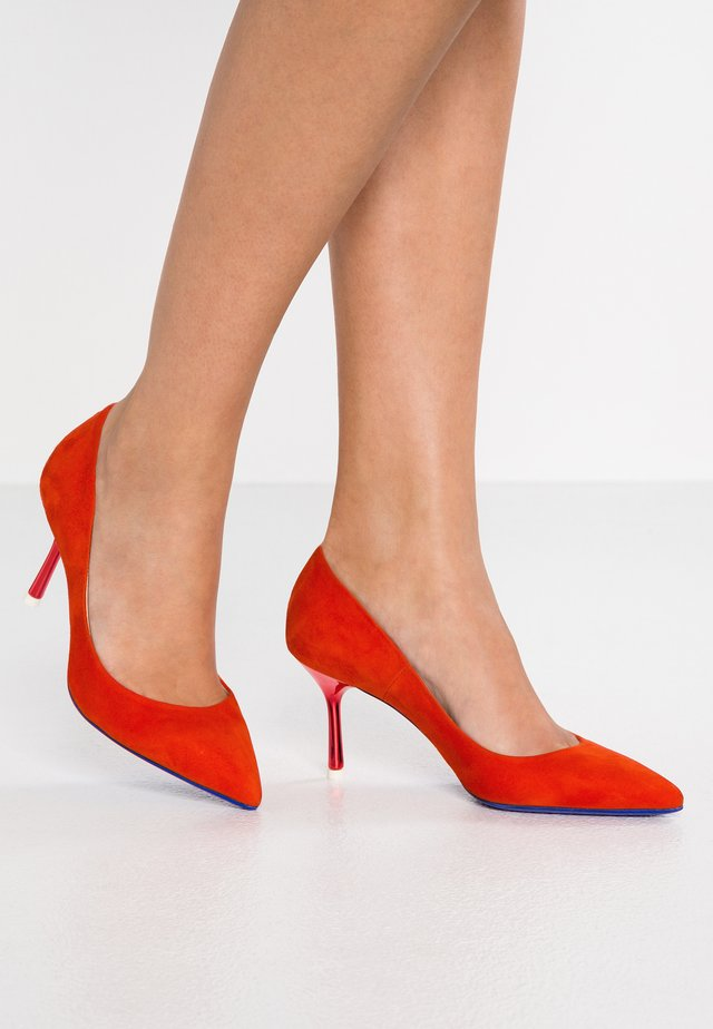 Pumps - amalfi orange