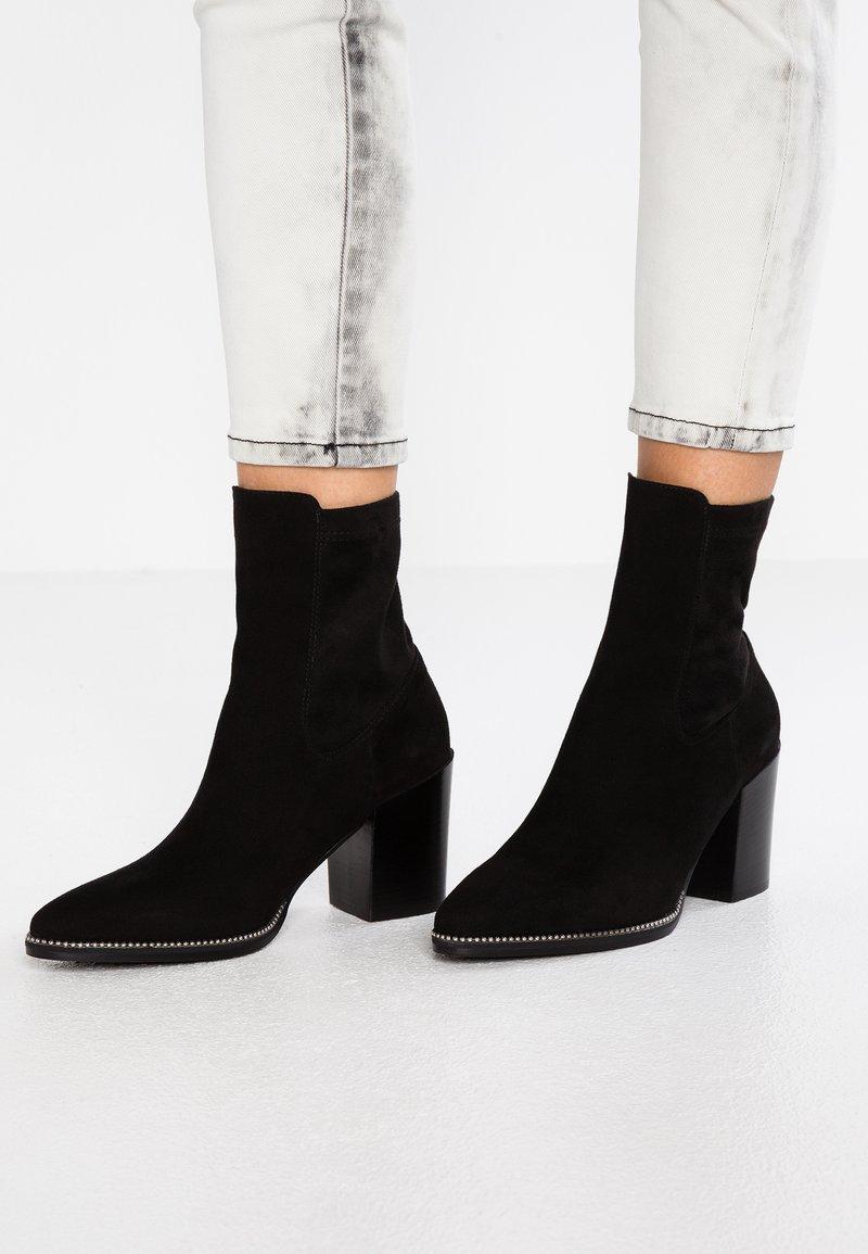 MA&LO - ZOE - Kotníkové boty - nero