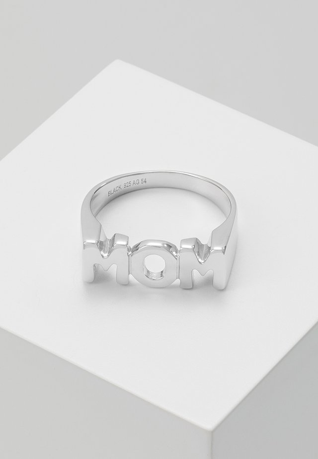 MOM - Ring - silver-coloured