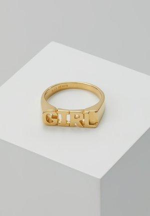 GIRL RING - Ring - gold-coloured