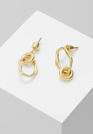 NOON MINI EARRING MINI MIDNIGHT EARRING - Øreringe - gold-coloured