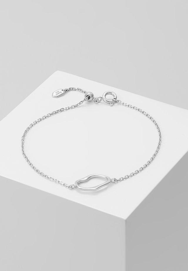 MIDNIGHT BRACELET - Armband - silver
