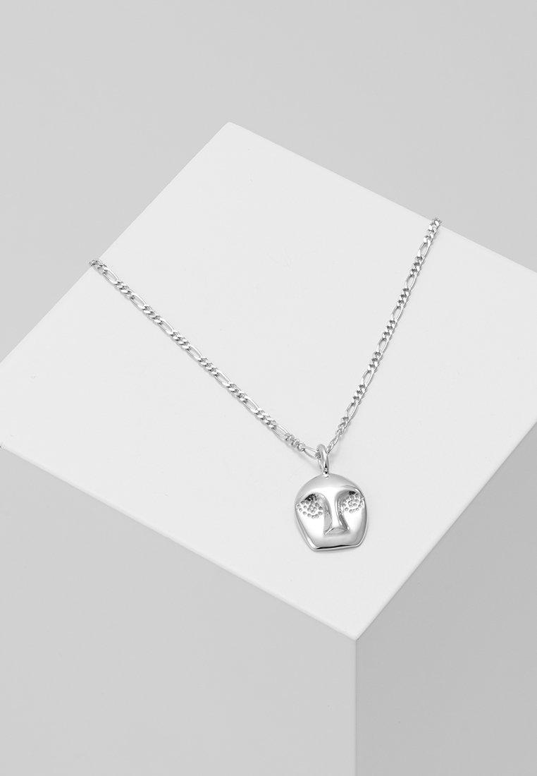 Ray Maria Silver Black NecklaceCollier Maria Black Nvm80nw