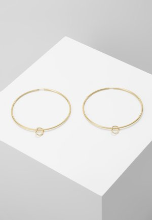 SENORITA HOOP PAIR NOON CHARM - Náušnice - gold-coloured