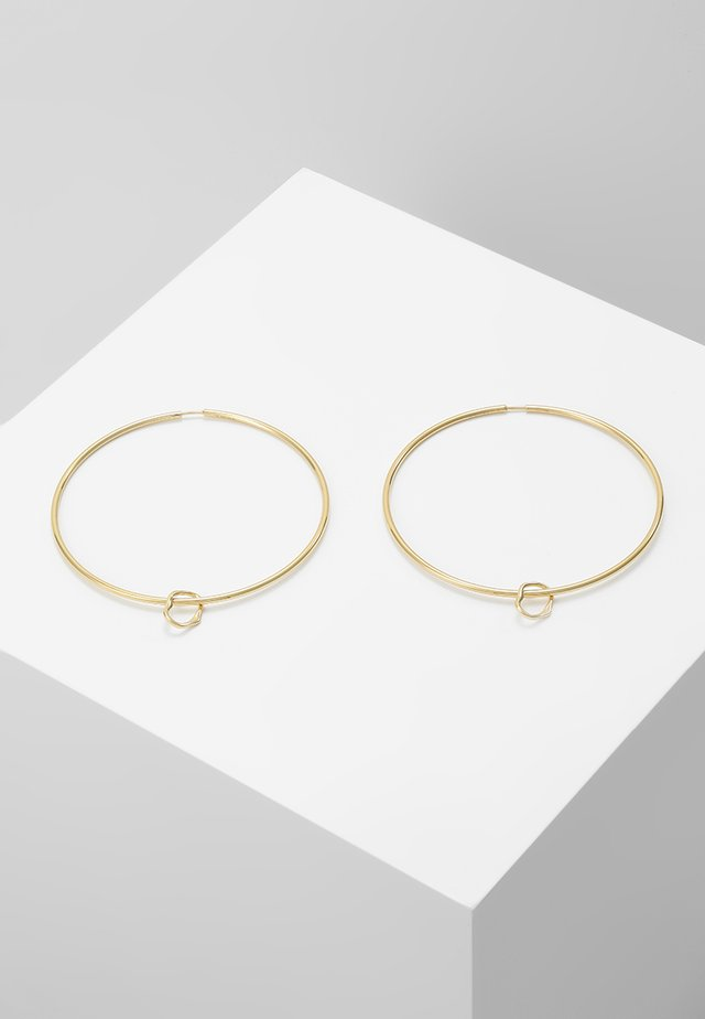 SENORITA HOOP PAIR NOON CHARM - Ohrringe - gold-coloured