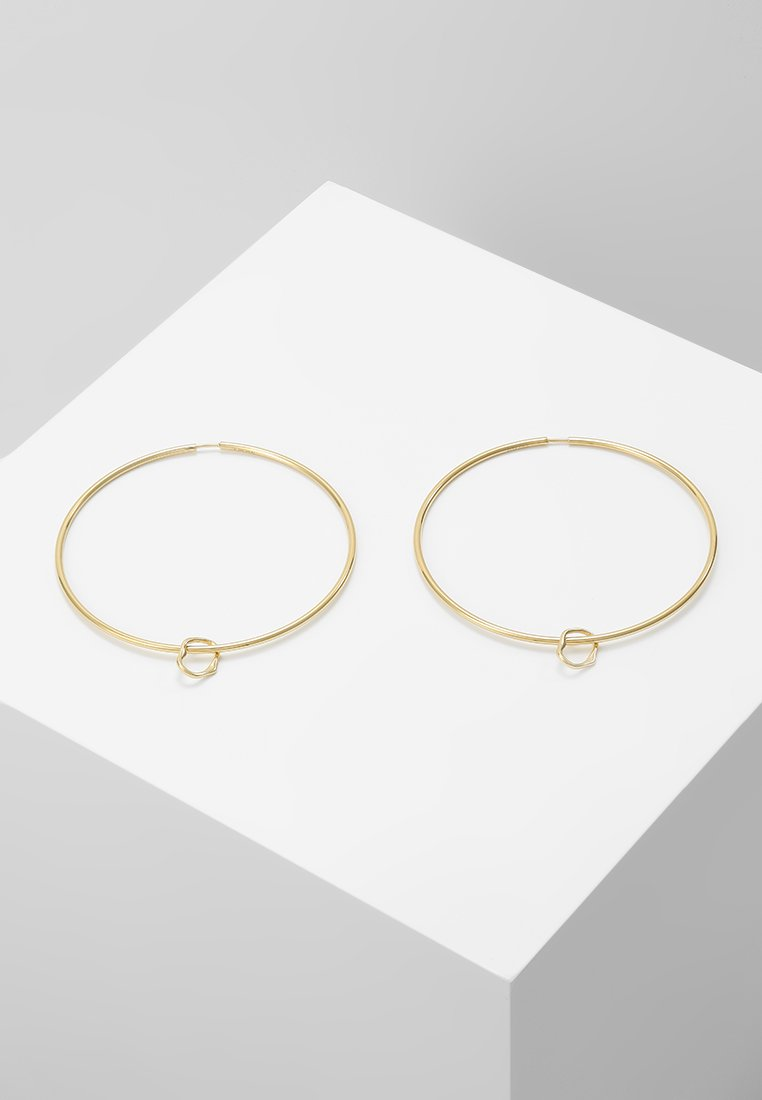 Maria Black - SENORITA HOOP PAIR NOON CHARM - Earrings - gold-coloured